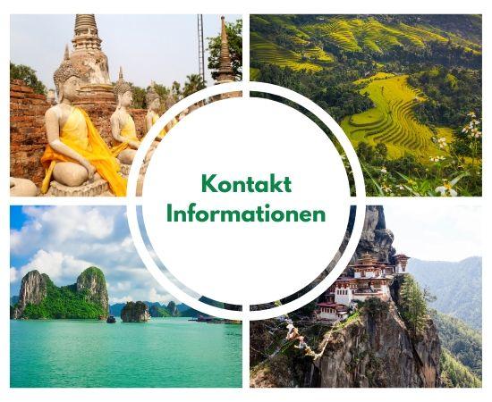 Kontakt Informationen Asien