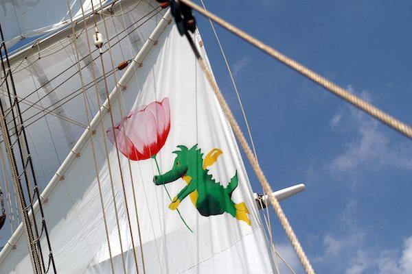 Segelschiff tauchen